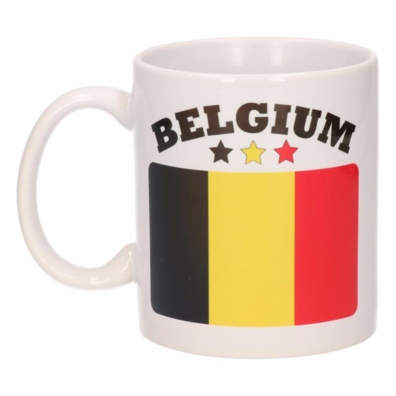 Mok Belgische vlag