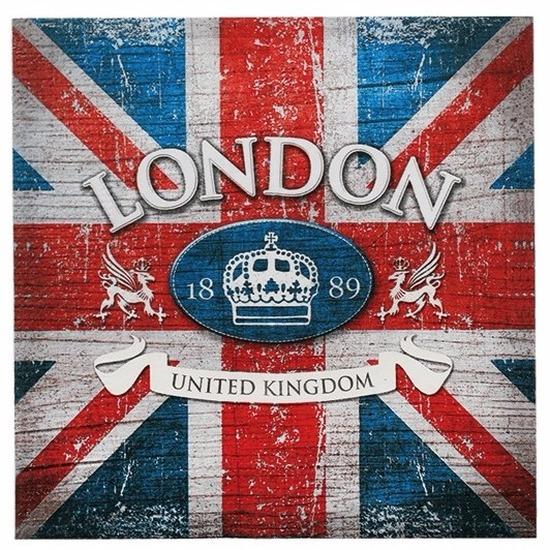 Papieren Londen Engeland servetten 20 stuks