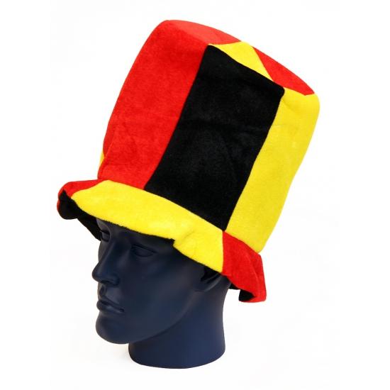 Pluche hoed Belgie