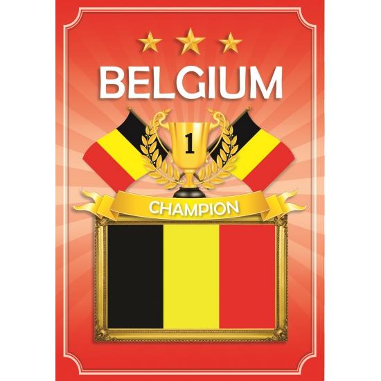 Poster Belgium