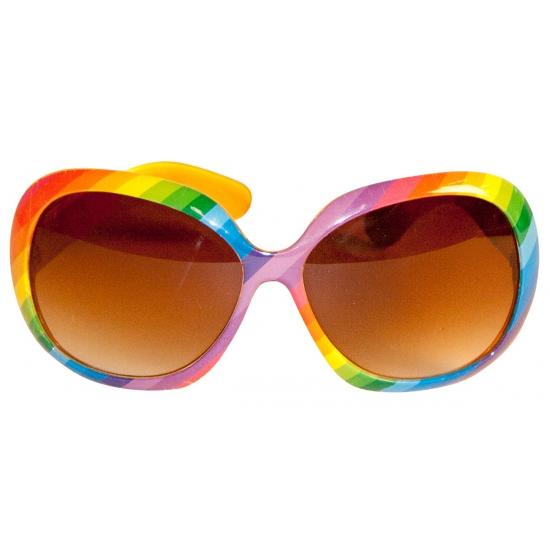 Regenboog zonnebril