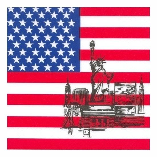 Servetten USA/Amerika