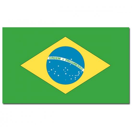 Vlag Brazilie 90 x 150 cm