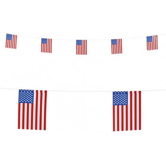 Vlaggenlijn Amerika 6 meter