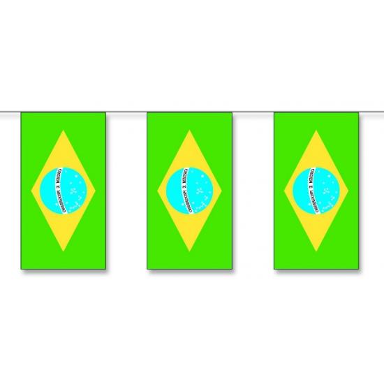 Vlaggenlijn Brazilie 5 meter