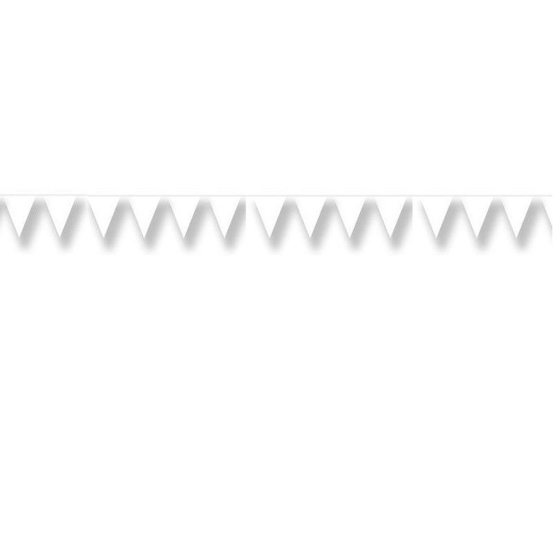 Vlaggenlijn wit 20 meter