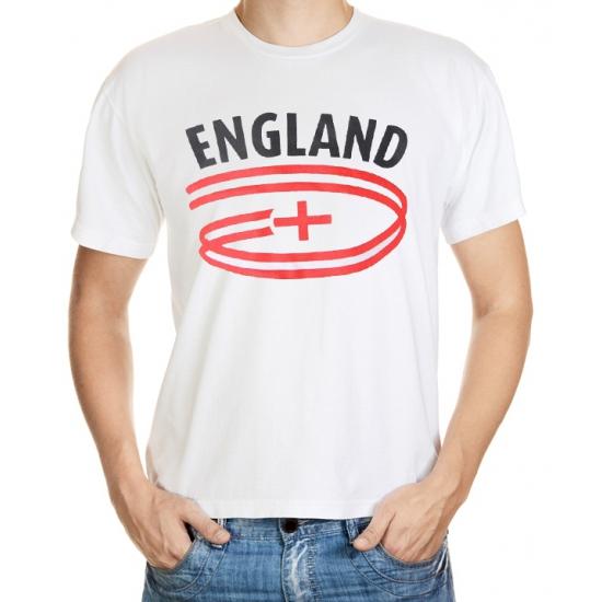 Wit heren t-shirt Engeland
