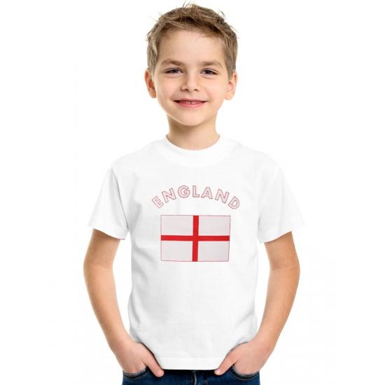 Wit kinder t-shirt Engeland