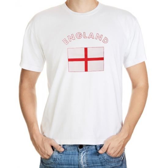 Wit t-shirt Engeland heren