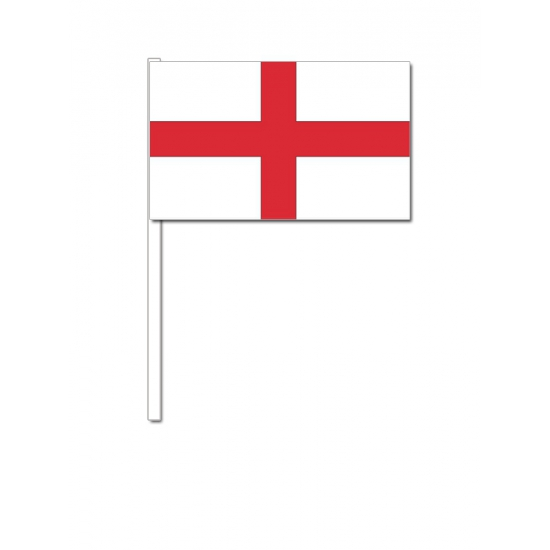 Zwaaivlaggetjes Engeland 12 x 24 cm
