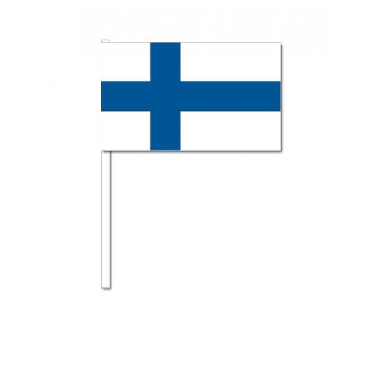 Zwaaivlaggetjes Finland 12 x 24 cm