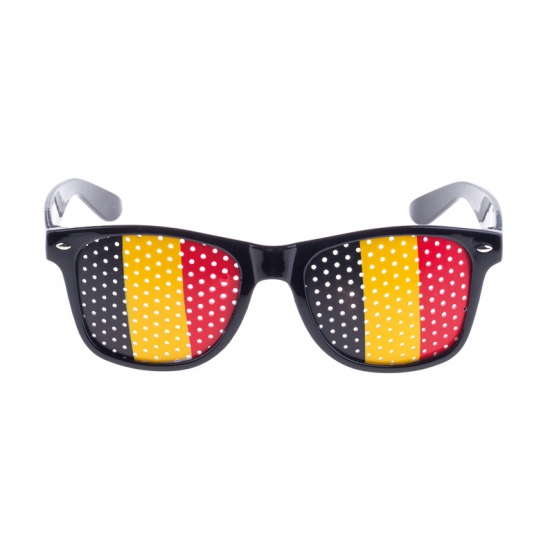 Zwarte Belgie bril